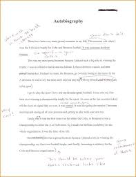 Short Autobiography Example Template Biosketch – Poquet