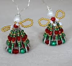 Beaded Christmas Ornaments Patterns Best 48 Beaded Ornament Patterns You Can't Beat AllFreeChristmasCrafts