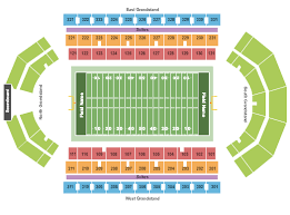 Compton Family Ice Arena Seating Chart Buy Bowling Green Falcons Tickets Seating Charts For Events