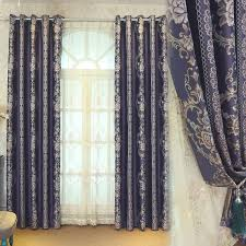Image Design Ideas Aliexpress Us 1343 41 Offstylish Design Jacquard Curtain For Living Room Blackout Tulle Cortinas Salon Bedroom Home Office Thick Curtain Custom Made Newin