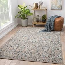 8 10 outdoor rug beautiful juniper home angkor hand knotted medallion gray navy area rug