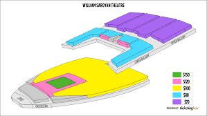 William Saroyan Theatre Fresno Seating Chart William Saroyan Theatre Seating Chart