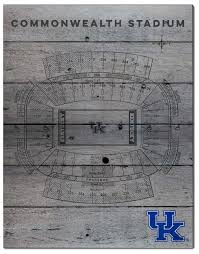 Uk Football Seating Chart University Of Kentucky Pallet Stadium Seating Chart