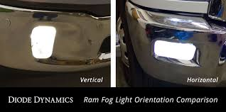 2016 Dodge Ram Fog Light Bulb Fog Light Leds For 2013 2019 Ram Vertical Pair