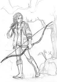 Small Picture The Hunger Games Katniss Everdeen by Catching Smokedeviantart
