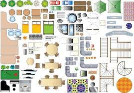 Furniture Clipart Floor Plan  Pencil And In Color Furniture Furniture Icons For Floor Plans