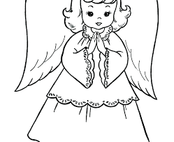 Mesmerizing Angel Gabriel Coloring Page Coloring Page Angel Angels