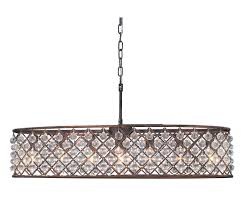 cassiel 30 inch oval crystal chandelier oil rubbed bronze light pertaining to amazing house oil rubbed bronze crystal chandelier decor