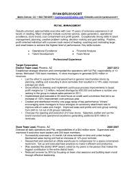 Sample Resume For Regional Operations Manager New Operations Manager