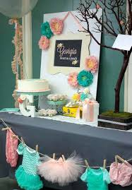 Guide To Hosting The Cutest Baby Shower On The BlockBaby Shower Party Table Decorations