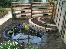 interior: Mini Garden That Created Using Small Backyard Concept Which Is  Completed With Small Home