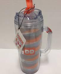 Faça compras na maior seleção de produtos do mundo e encontre as melhores ofertas de dunkin 'donuts caneca. New Dunkin Donuts Acrylic Travel Coffee Mug Orange Blue 24 Ounces Dunkindonuts Coffee Travel Dunkin Donuts Dunkin