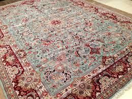carpet 15 x 15. 11 x 15 antique persian tabriz hand knotted wool green maroon fine oriental rug #persiantabriztraditional carpet