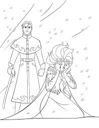 Small Picture Walt Disney Coloring Pages Prince Hans Queen Elsa walt disney