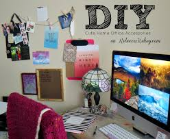 diy office accessories