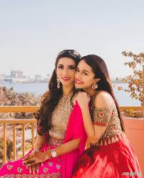 shradhha with her best friemd marriage