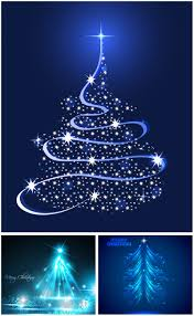 vector graphics blog all vectors and illustrations in eps blue christmas tree illustrations vector