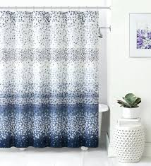 blue and white shower curtain navy medallion target