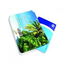 oyster card holder full colour print outer and inner side