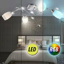 Rgb Chrome Lumière Gradateur Verre En Télécommande Chambre