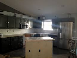 Full Size of Kitchen:amazing Grey Wood Kitchen Backsplash Cupboards Cabinet  Colors Cream Cabinets Large ...