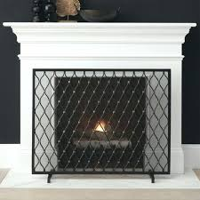 large fireplace screens large fireplace screens fireplace screens tools and accessories crate barrel extra large fireplace large fireplace screens