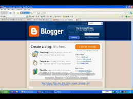 How To Create A Blog How To Make A Blog In Blogger Com Using Your Gmail Google Account