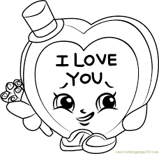 Small Picture Candy Kisses Shopkins Coloring Page Free Shopkins Coloring Pages
