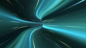 Light Speed Travel Light Speed Travel Tunnel Portal Light Trails Warp Dive Time Vortex