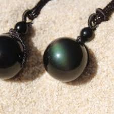 rainbow obsidian jewelry obsidian necklace the protection stone obsidian pendant rainbow