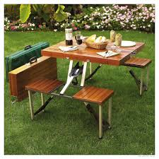 Camping Folding Table And Chairs Set Picnic Table Portable Folding Picnic Table Dining Bench Chairs