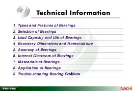 Bearing Clearance Chart Pdf Pdf Nachi Bearing Catalog Technical Information Graha