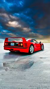 Support us by sharing the content, upvoting wallpapers on the page or sending your own background. Ferrari F40 Rear Classic Car Off Road 720x1280 Wallpaper Ferrari F40 Ferrari Classic Cars
