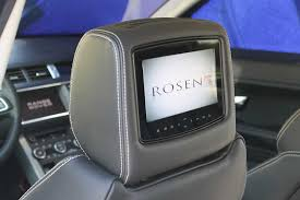 rosen av7500 dvd headrest installation video av7900 installed in a land rover evoque av7900 dvd headrests