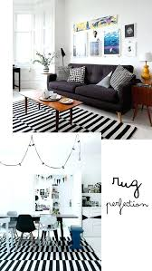 black white striped rugs gray outdoor rug