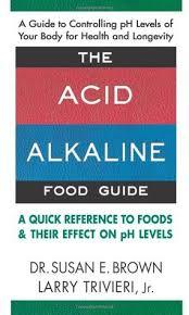 Ph Food Chart Alkaline Diet Book The Acid Alkaline Food Guide By Susan E Brown