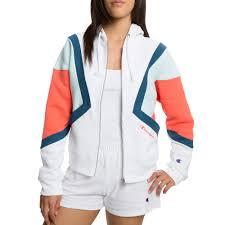 Women S Champion Hoodie Size Chart Champion Reverse Weave Colorblock Zip Hoodie In 2019 Zip
