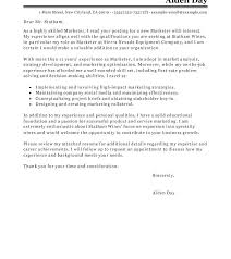 Marketing Manager Cover Letter Digital Marketing Manager Cover