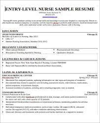 Resume For Rn Nurse Sarahepps Com