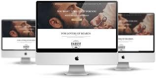 Barber Shop Website Lt Perook Free Joomla Barber Shop Template