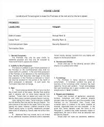 house rental agreement sample commercial lease agreement sample house residential tenancy