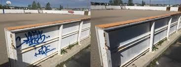 Graffiti Guru Hockey Rink Removals Graffiti Guru