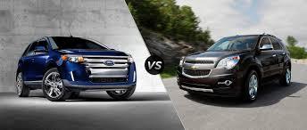 Ford Edge vs 2015 Chevy Equinox