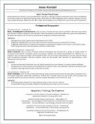 Nurse Practitioner Resume Sample Unique Writing A Nursing Resume