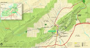 colorado springs printable tourist map city maps for mcpe map of