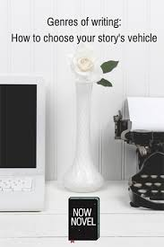 Genres Of Writing And Your Novel Now Novel
