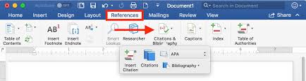 Apa Setup In Word How To Format References Automatically Using Microsoft Word The