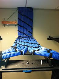 best images about home structured wiring cable meticulously detailed cable management breaking out into network racks they took their time and did
