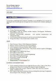 sap abap resume sample sample sap resume resume cv cover letter
