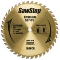 sawstop contractor saw i wood like i wood like sawstop titanium ripping and cross cutting blade